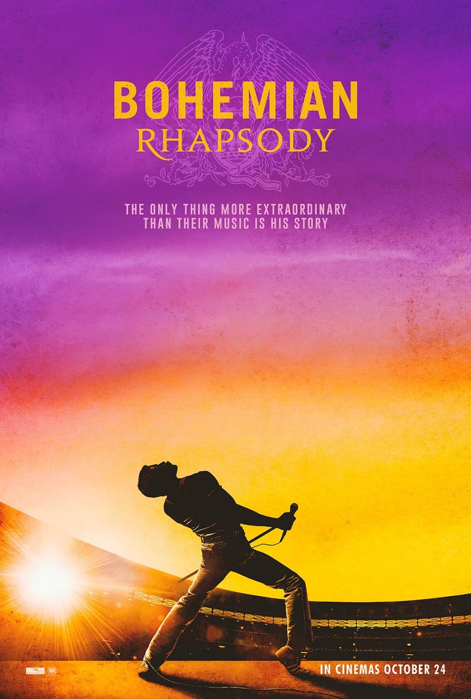 Un film de Bryan Singer, avec Rami Malek. Peut-être plus au cinéma quand vous lirez ce papier mais sans doute bientôt en DVD.