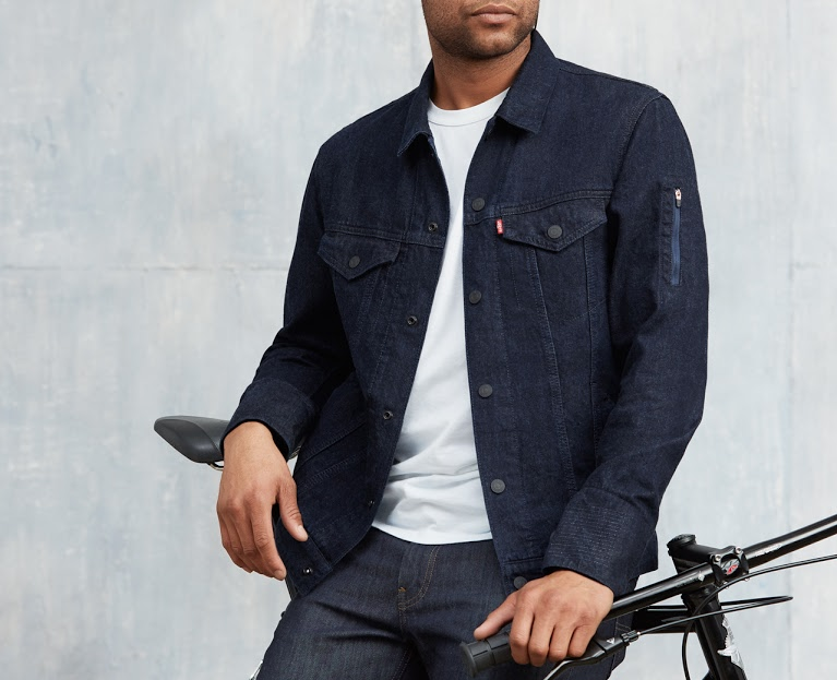 Levi's Commuter Trucker Jacket with Jacquard (Levi's - Google)
