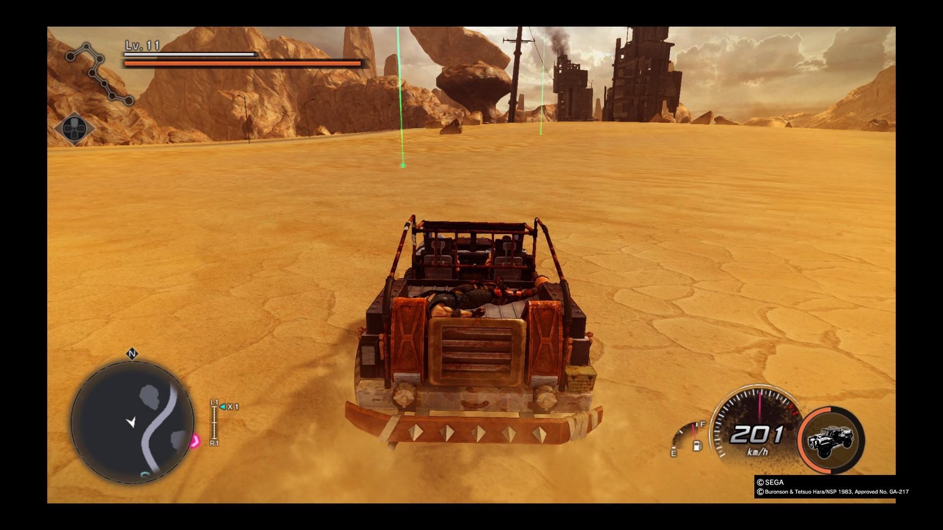 Réalisé avec le moteur de Yakuza 0, le jeu fait parfois peine à voir.