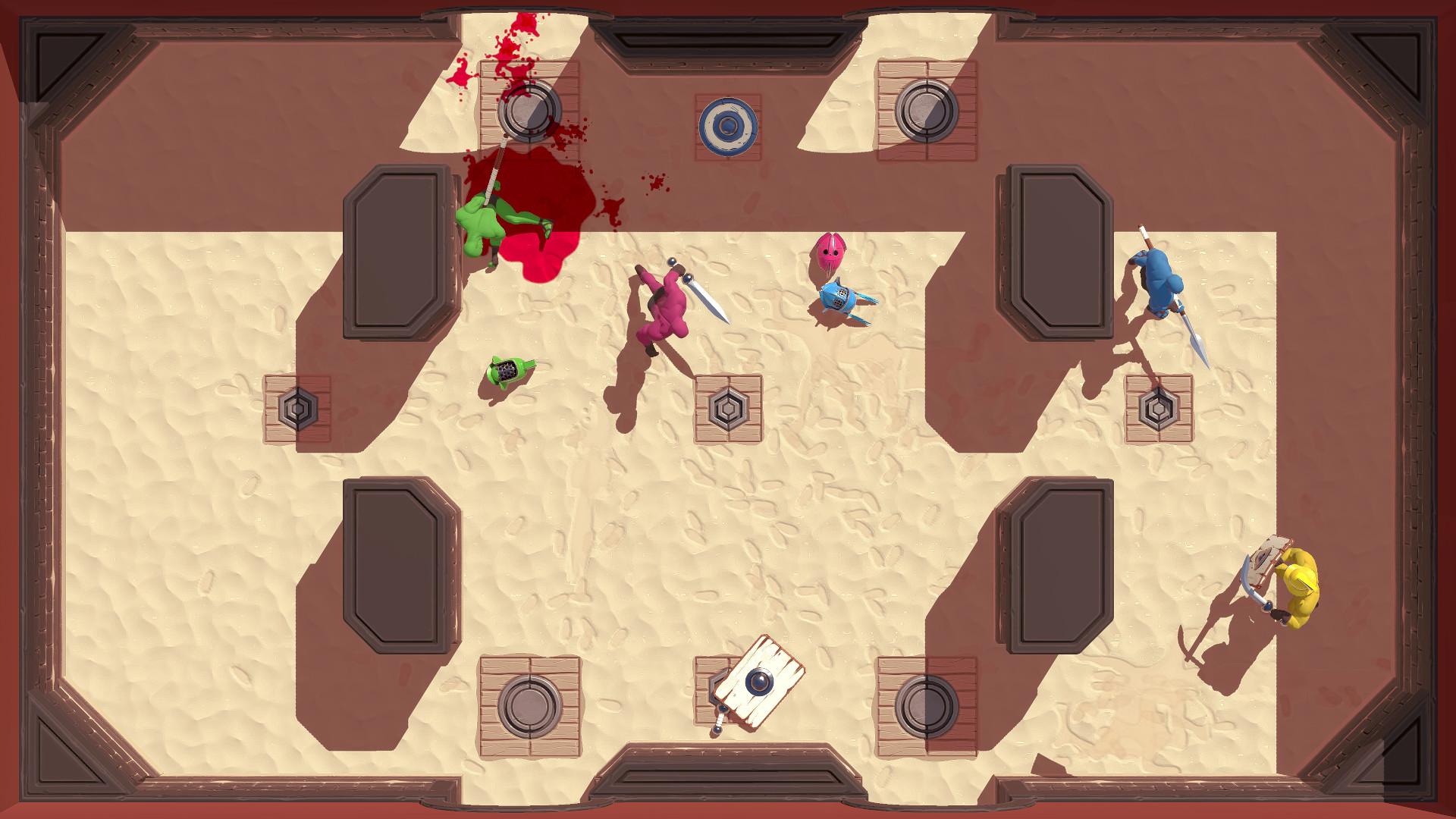Arena Gods, de Supertype (Brésil, États-Unis et Royaume-Uni), pour 2 à 4 joueurs en local, 15 euros.