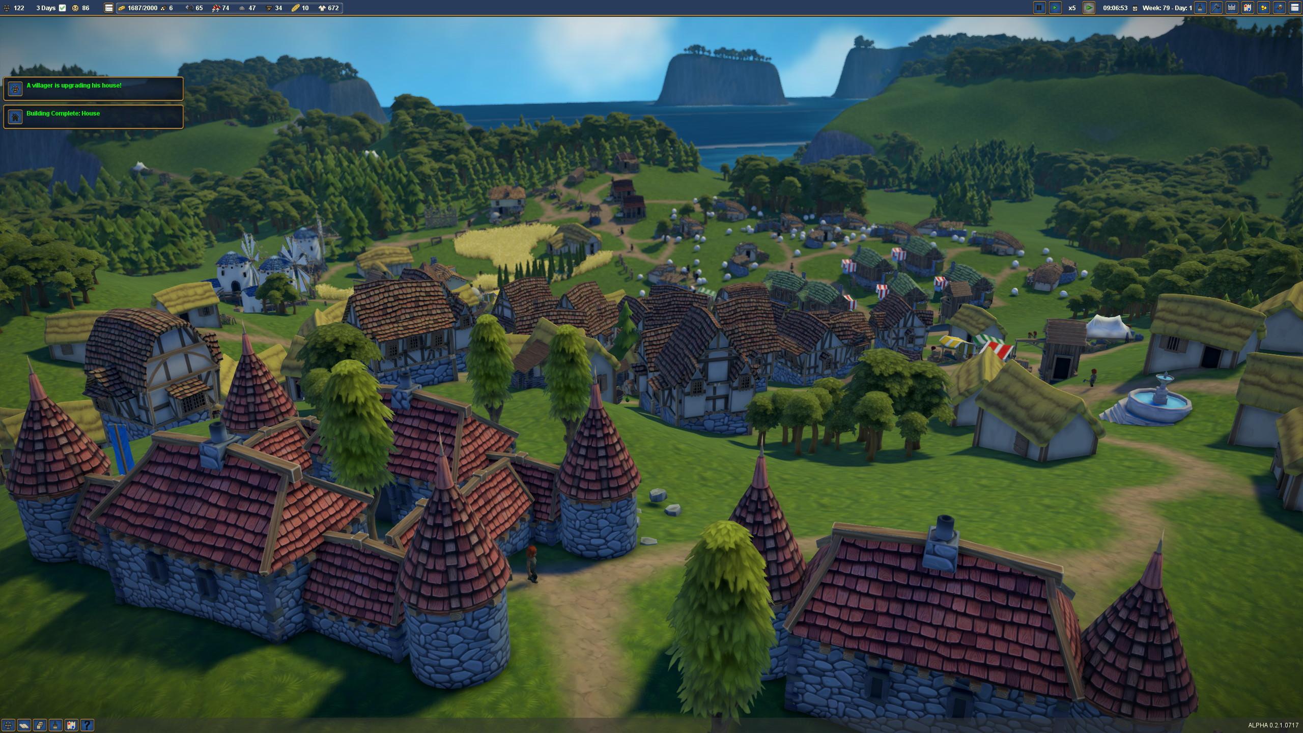 Perché sur la colline où j'ai bâti mon château personnel, j'aime admirer en contrebas les gueux qui travaillent aux champs. On dira ce qu'on veut du féodalisme, ça avait quand même de bons côtés.