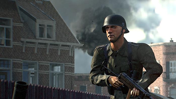 Le fameux « regard mort du leader », caractéristique lorsqu'il observe ses troupes monter à l'assaut sans aucune coordination, sans utiliser de grenades fumigènes, parce que « c'est juste un jeu vidéo alors YOLO quoi ! ».