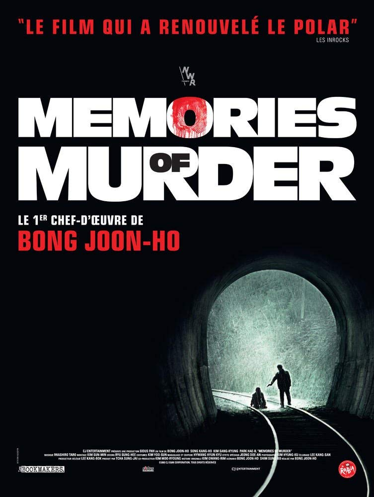 Memories of Murder, un film de Bong Joon-Ho (2003) qui vient de ressortir en DVD (20 euros) et Blu-ray (35 euros).
