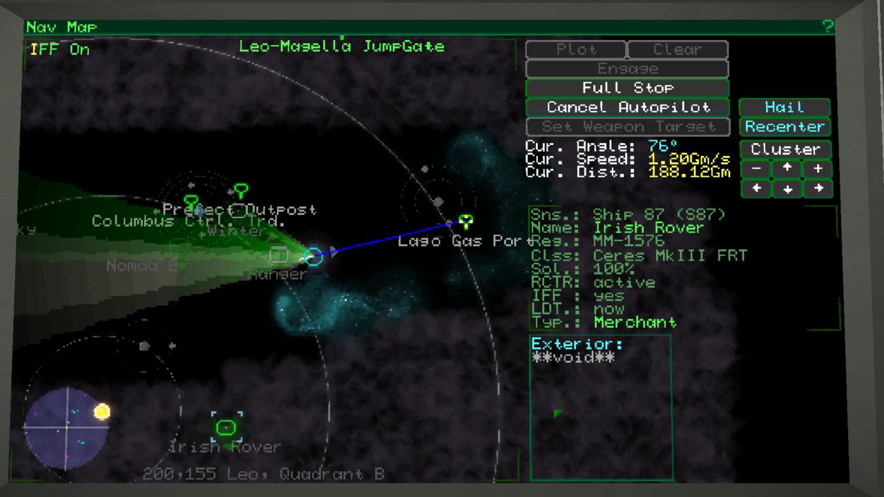 Oui, ça pique les yeux. Mais c'est sur cette carte qu'on passe une bonne partie du jeu, et ça finit presque par devenir beau.