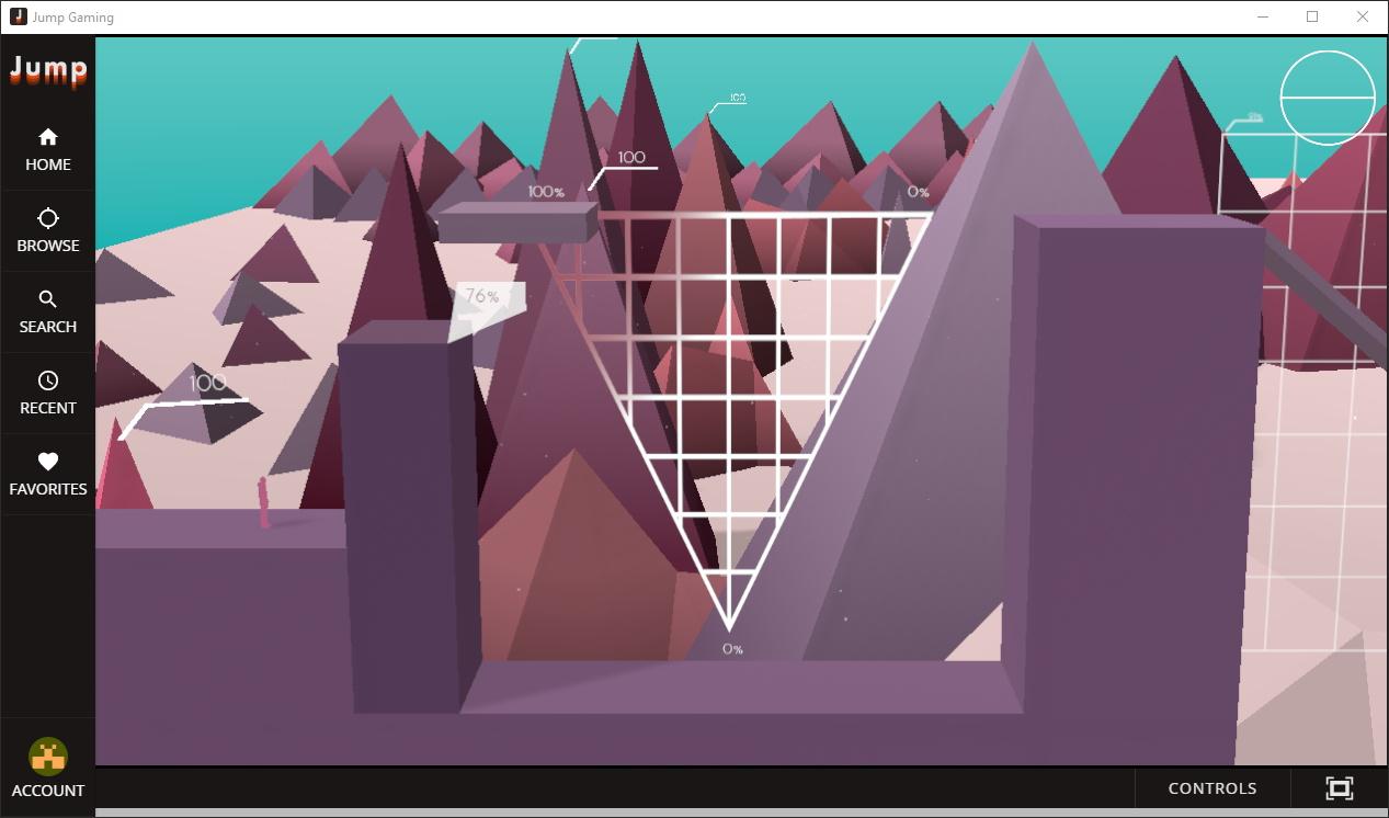 Découvert sur Jump, Metrico+ est un étrange platformer basé sur l'esthétique de l'infographie. Sympa une petite demi-heure, comme la majorité des titres disponibles sur la plateforme.