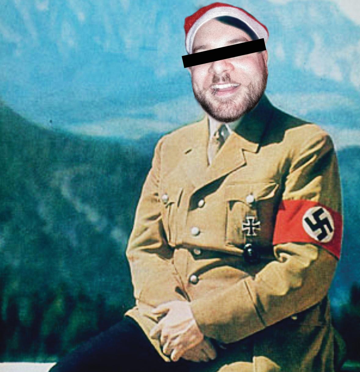 Le nazisme, un sujet de choix pour une bonne rigolade entre collègues.