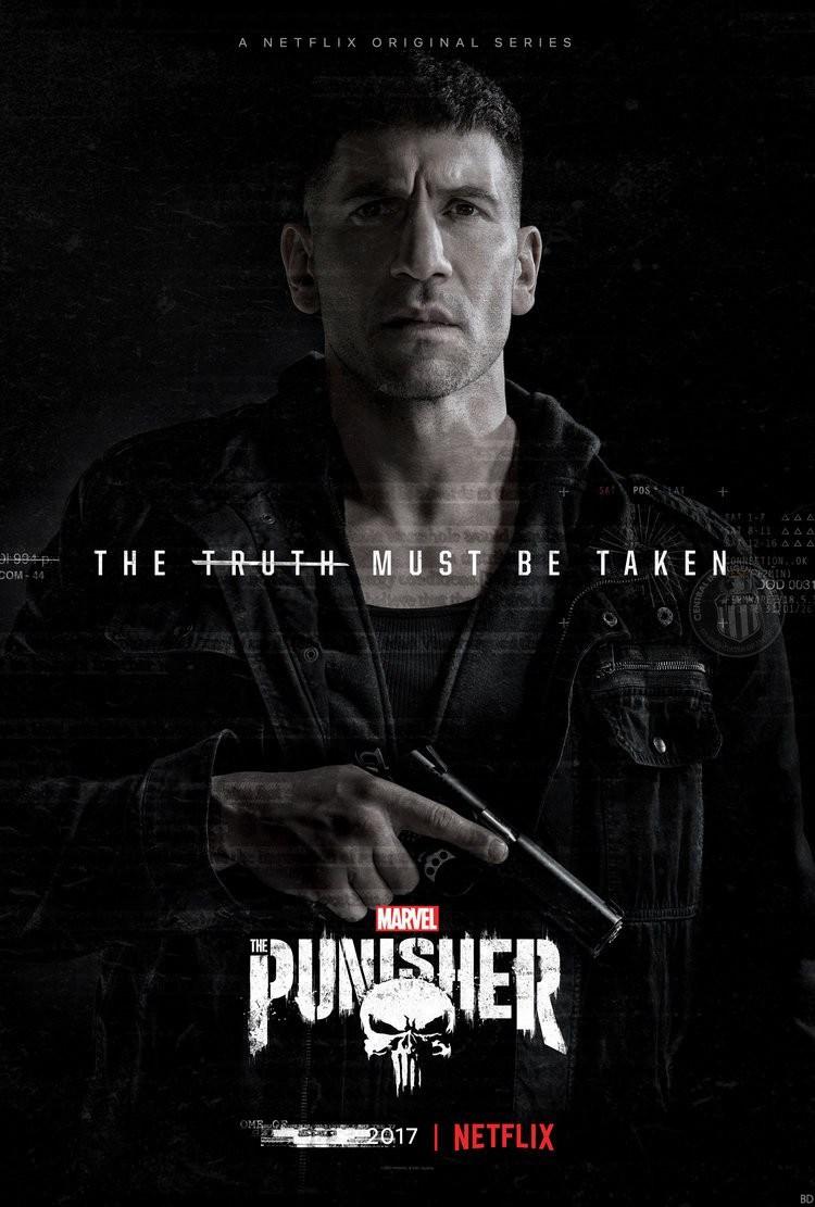 The Punisher, une série de Steve Lightfoot avec la « gueule » de Jon Bernthal, disponible sur Netflix, à partir de 8 € par mois.