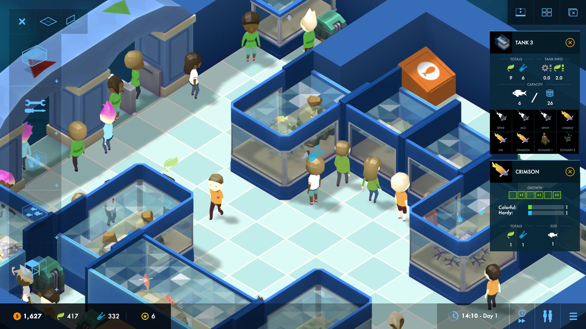 Le style graphique du jeu reprend celui de Big Pharma, avec une 3D stylisée claire et anguleuse.