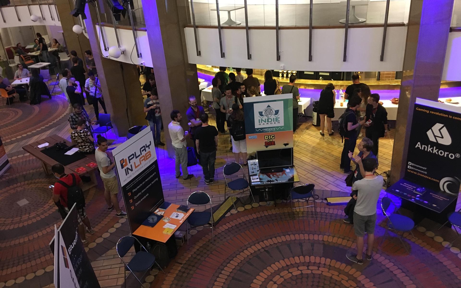 Le Gamecamp, organisé l'an dernier à Lille par le SNJV, a regroupé environ 450 professionnels français venus échanger et assister à des conférences.