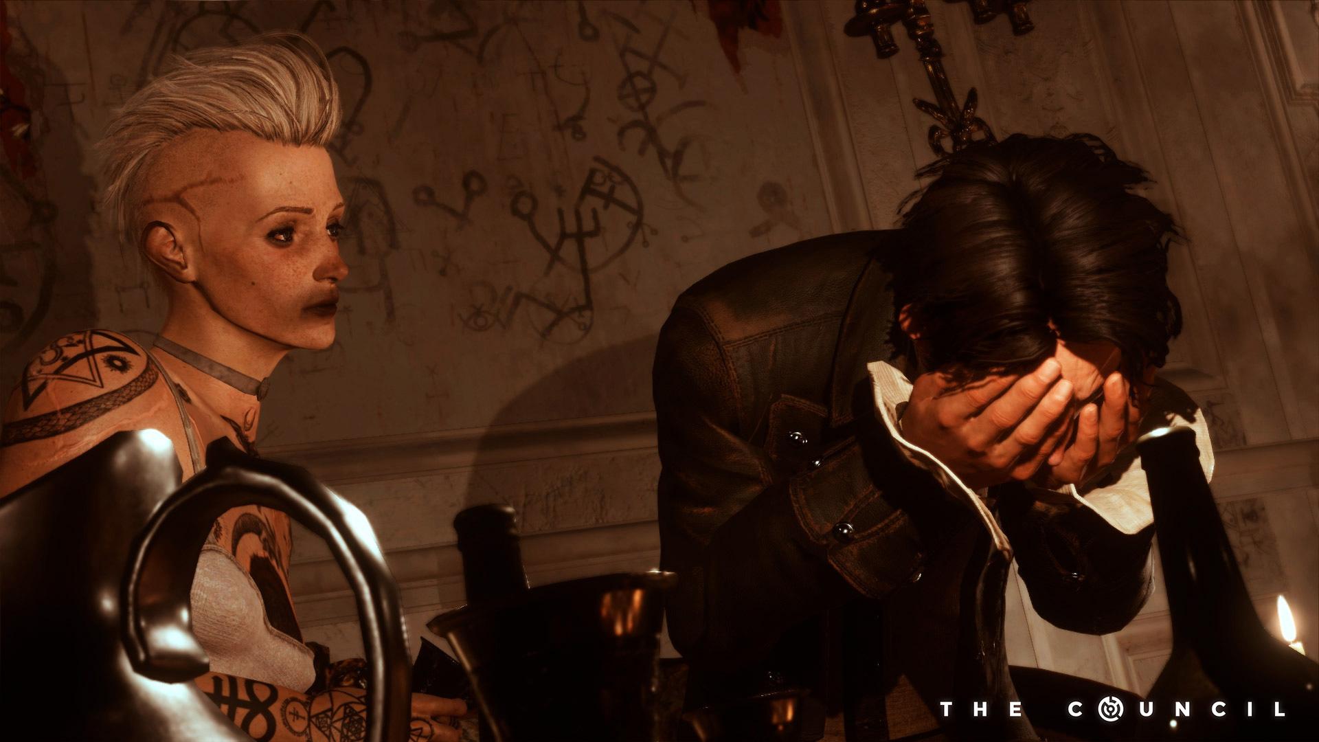 Vous êtes sûrs qu'on est en 1793 ? Parce qu'à un ou deux détails près, ça ressemble quand même vachement aux soirées gothiques de ma folle jeunesse.
