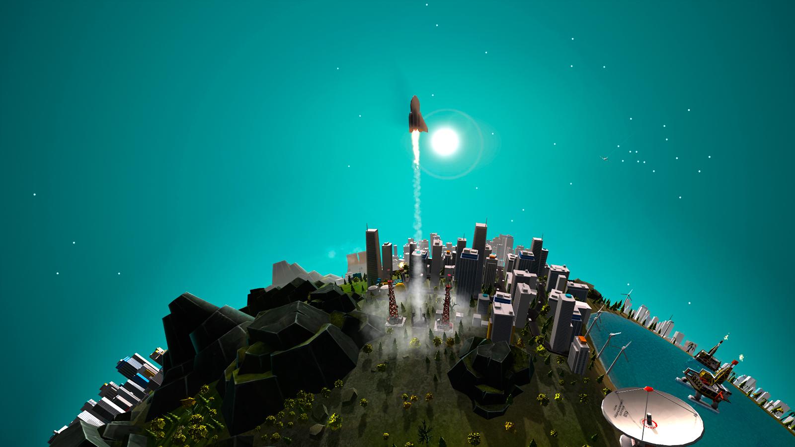 The Universim, image tirée du prospectus. Au rythme actuel, le jeu devrait ressembler à ça aux alentours de 2034, au cours du second mandat présidentiel de Laurent Wauquiez.