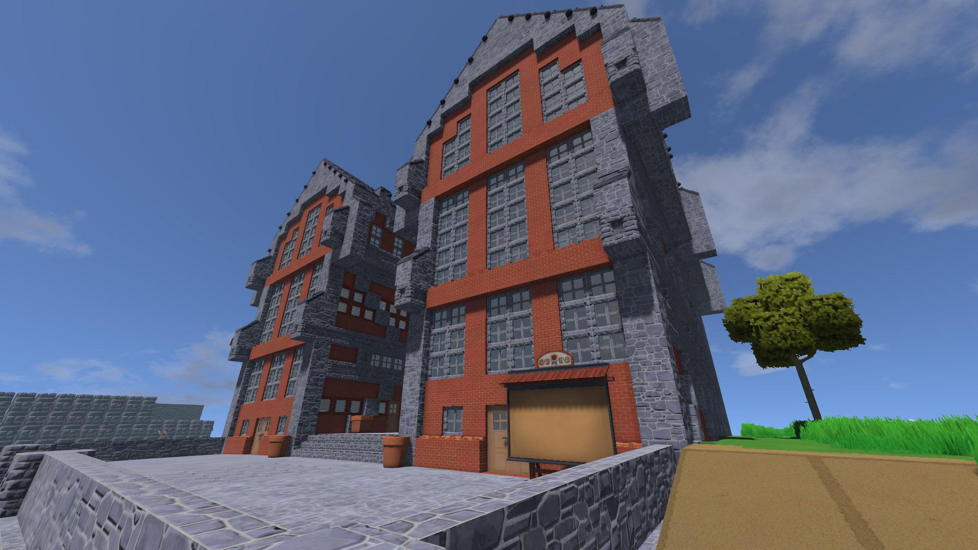 Le bâtiment industriel collectif, symbole de la puissance communiste.