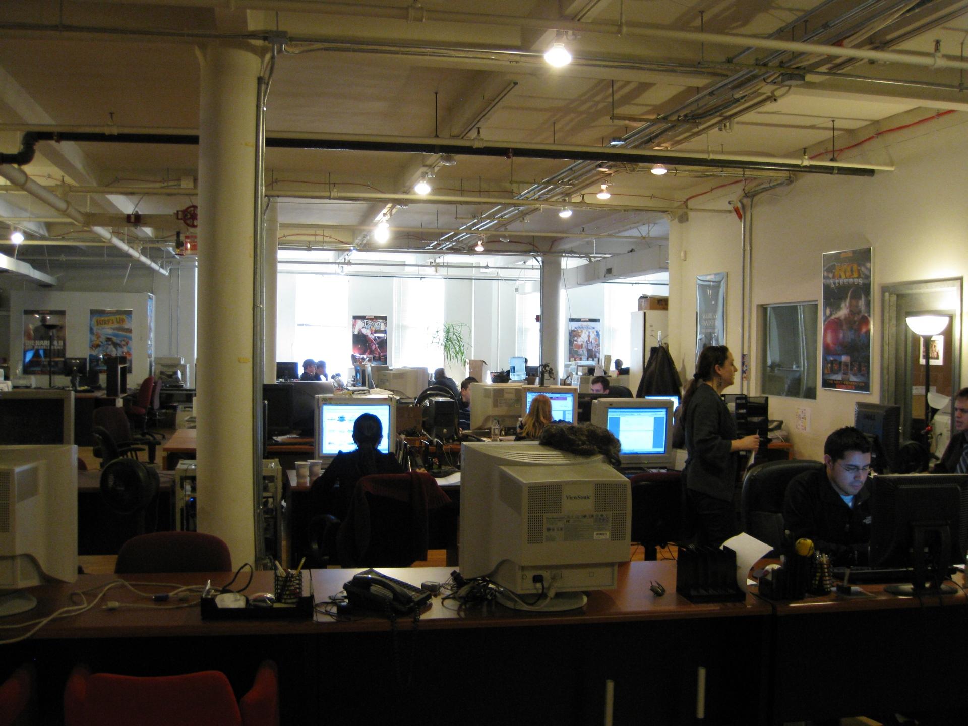Les bureaux (désormais fermés) de Gameloft à New York en 2009. Photo CC BY Blake Patterson